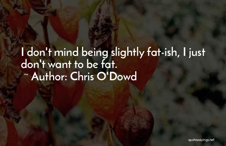 Chris O'Dowd Quotes 1149792