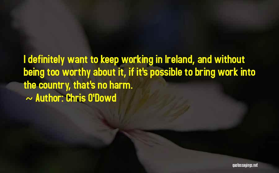Chris O'Dowd Quotes 1908581