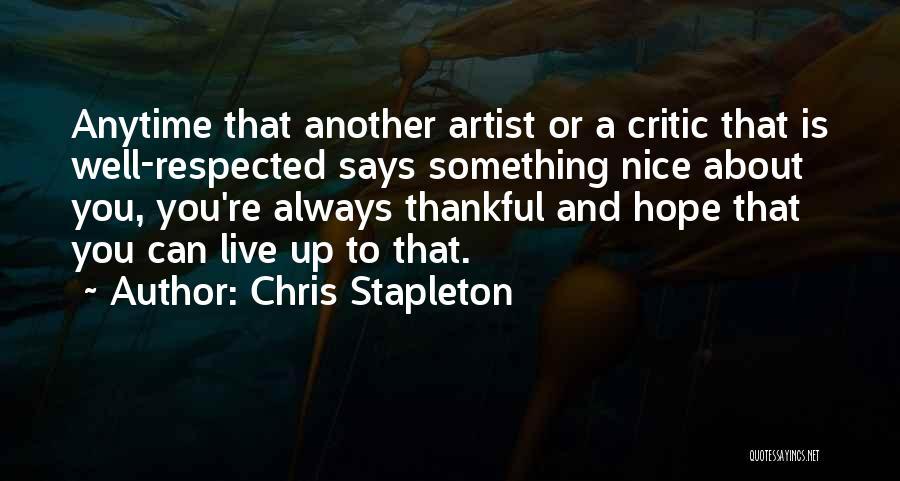 Chris Stapleton Quotes 1265613