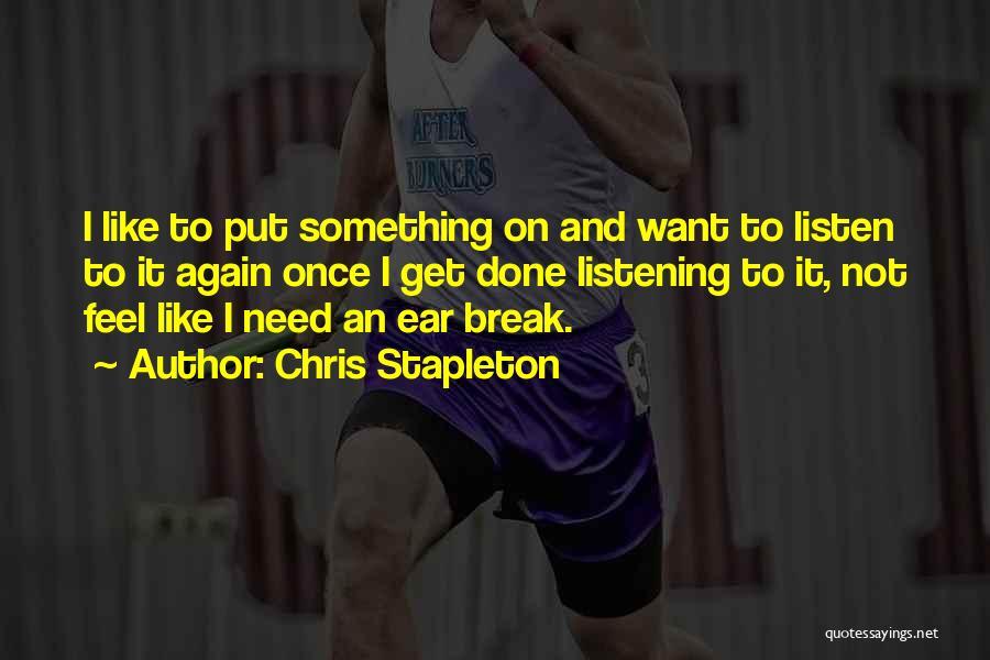 Chris Stapleton Quotes 1695934