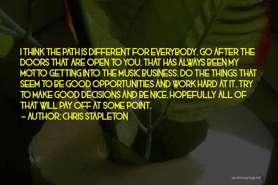 Chris Stapleton Quotes 1834806