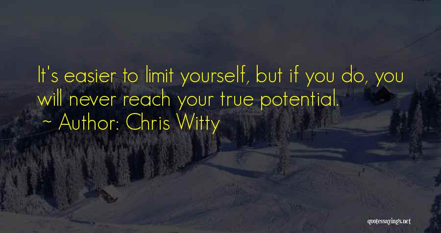 Chris Witty Quotes 1225137