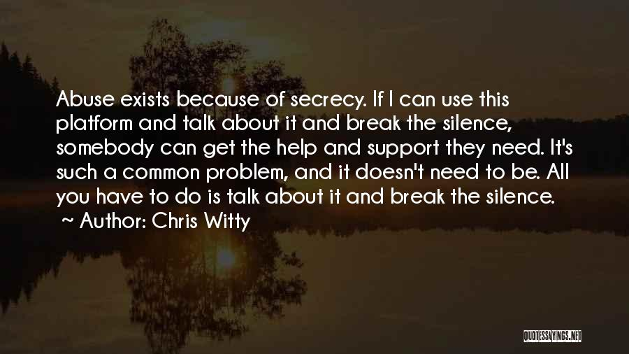 Chris Witty Quotes 488048