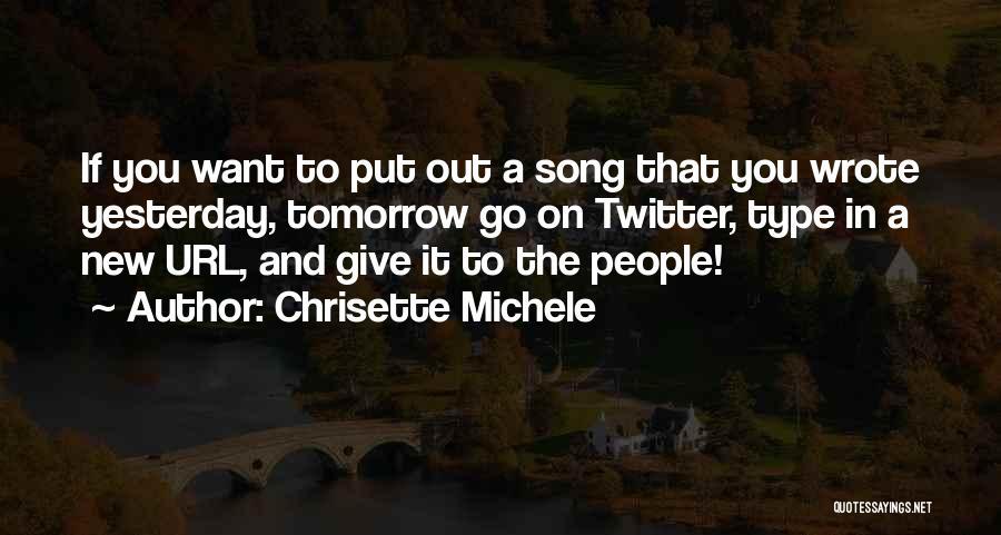 Chrisette Michele Quotes 722023