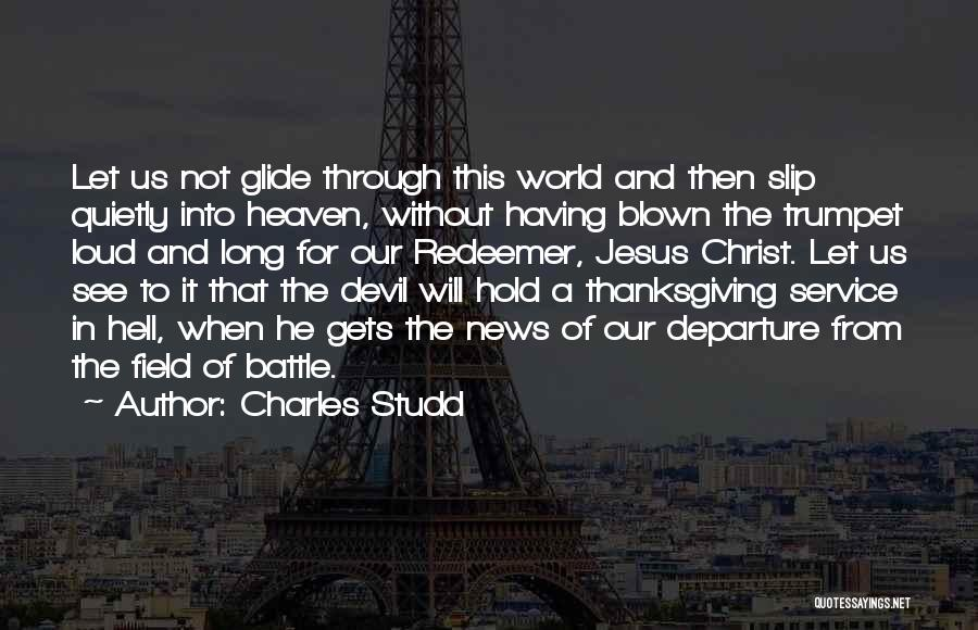 Christ The Redeemer Quotes By Charles Studd