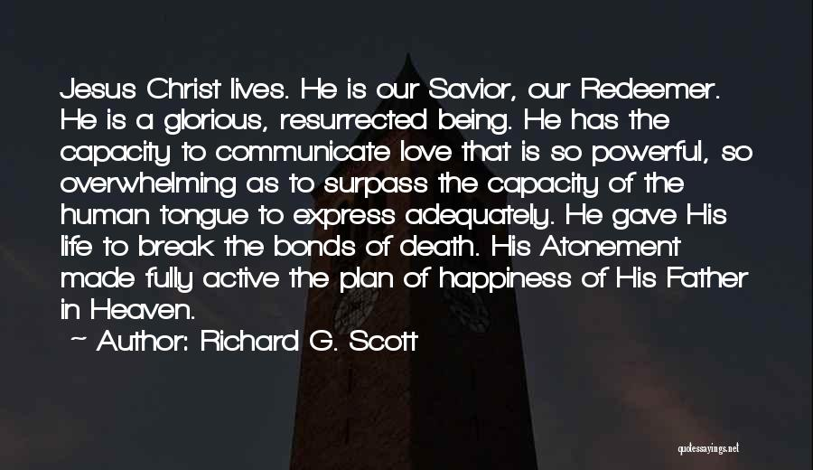 Christ The Redeemer Quotes By Richard G. Scott