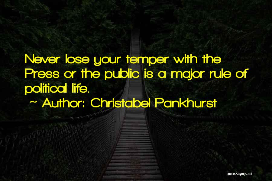 Christabel Quotes By Christabel Pankhurst