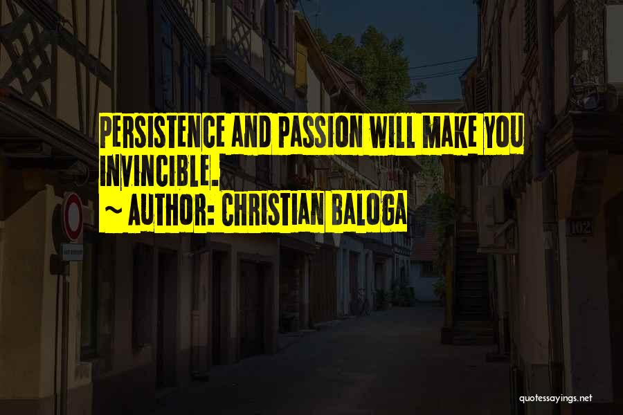 Christian Baloga Quotes 1493618