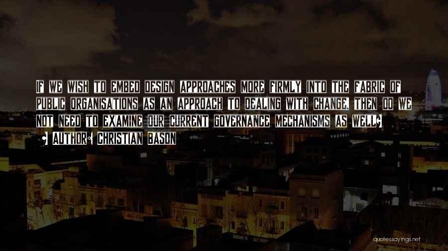 Christian Bason Quotes 1901596