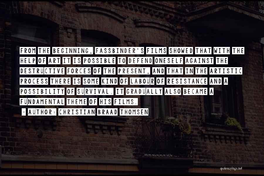 Christian Braad Thomsen Quotes 2161691