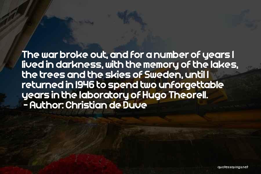 Christian De Duve Quotes 1473623