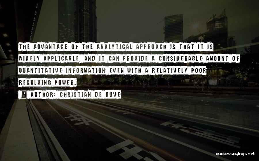 Christian De Duve Quotes 1882939