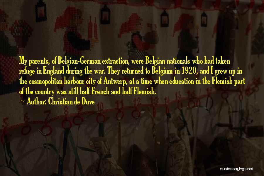Christian De Duve Quotes 2152946