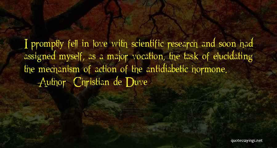 Christian De Duve Quotes 220692