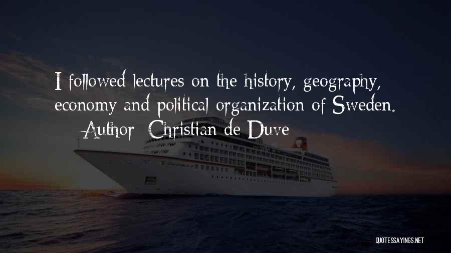 Christian De Duve Quotes 650569