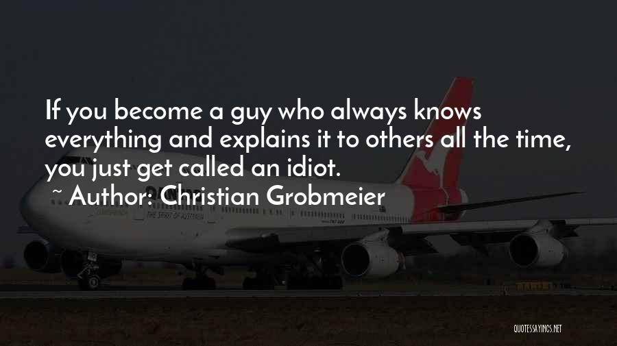 Christian Grobmeier Quotes 1310082