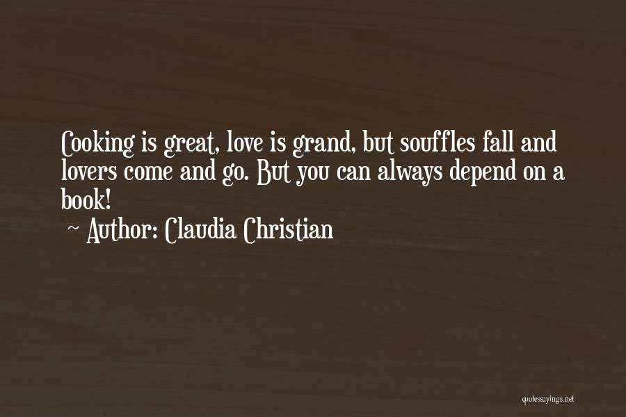 Christian Lovers Quotes By Claudia Christian