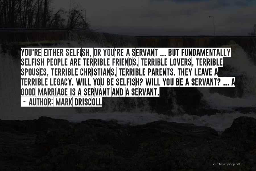 Christian Lovers Quotes By Mark Driscoll