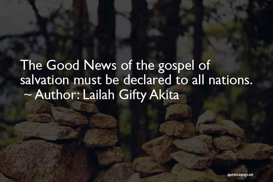 Christian Preaching Quotes By Lailah Gifty Akita