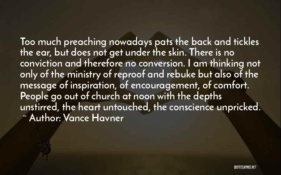 Christian Preaching Quotes By Vance Havner