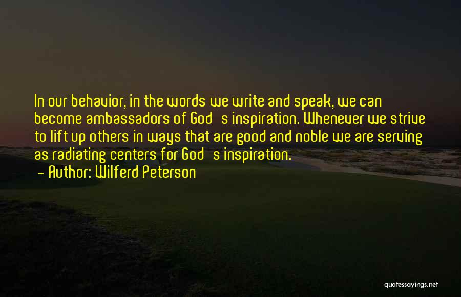 Christian Serving Quotes By Wilferd Peterson