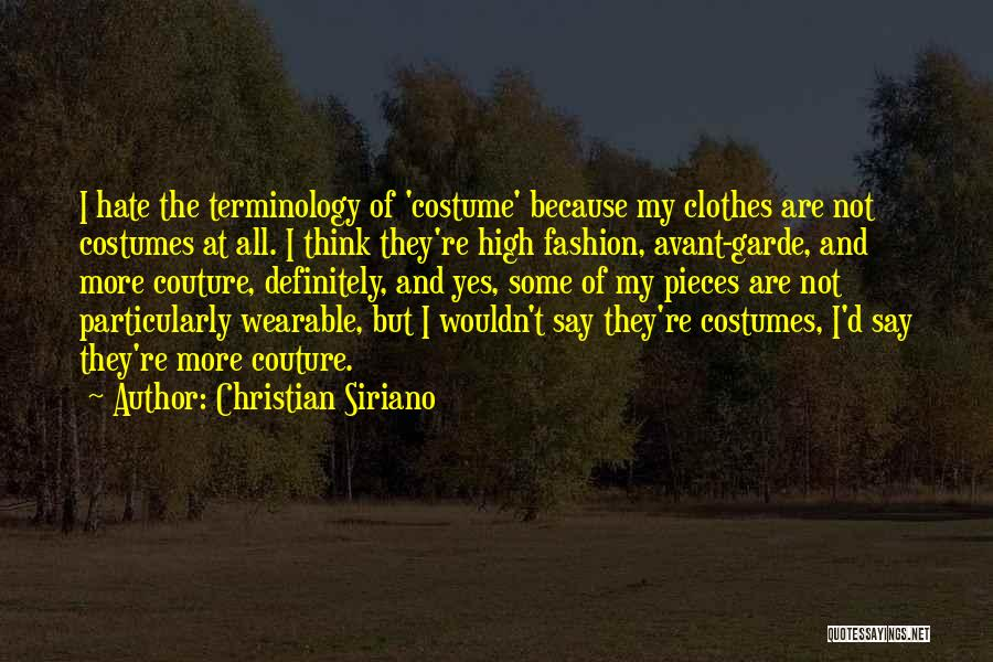 Christian Siriano Quotes 744273