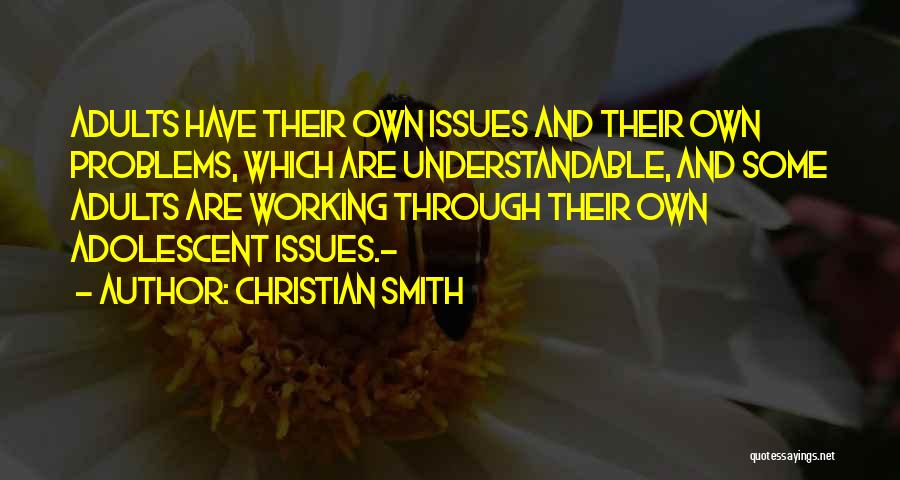 Christian Smith Quotes 195269