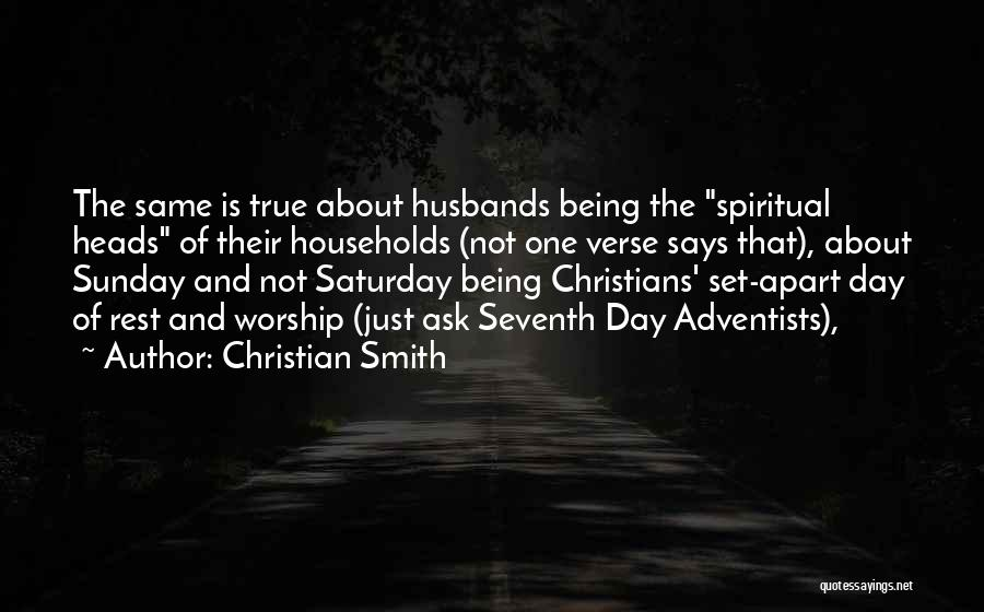 Christian Smith Quotes 2002892