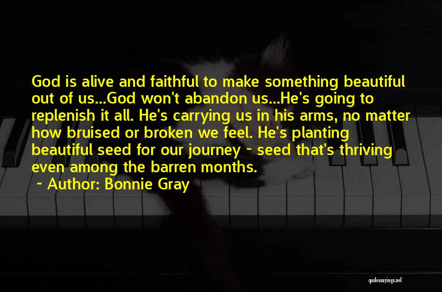 Christian Spiritual Journey Quotes By Bonnie Gray
