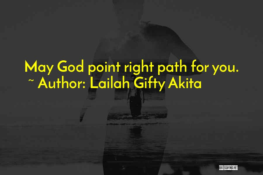 Christian Spiritual Journey Quotes By Lailah Gifty Akita