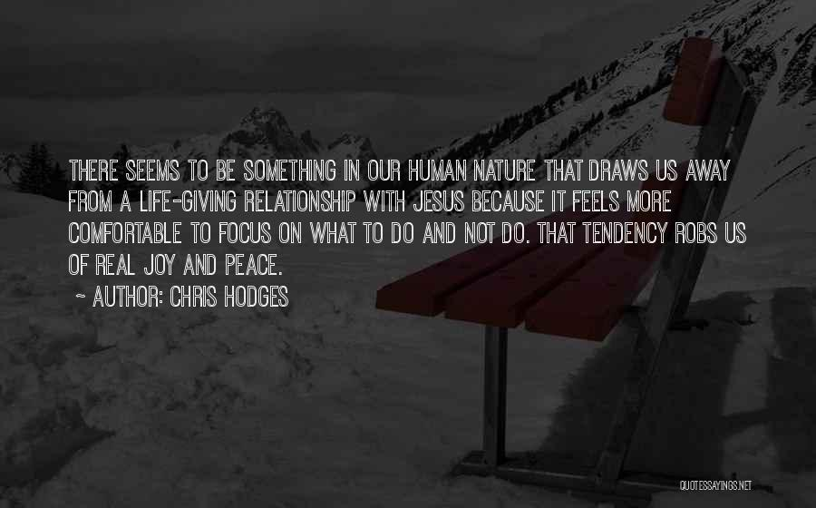Christianity And Peace Quotes By Chris Hodges