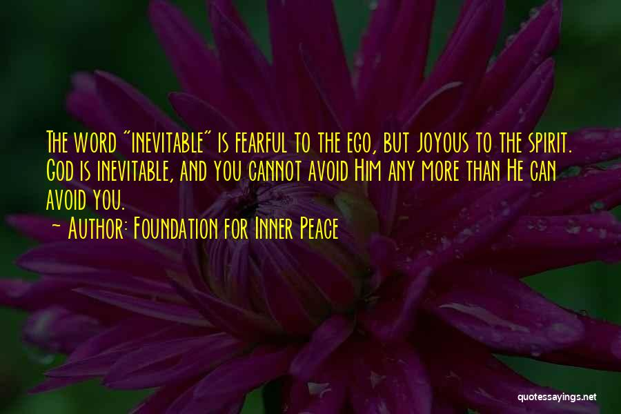 Christianity And Peace Quotes By Foundation For Inner Peace