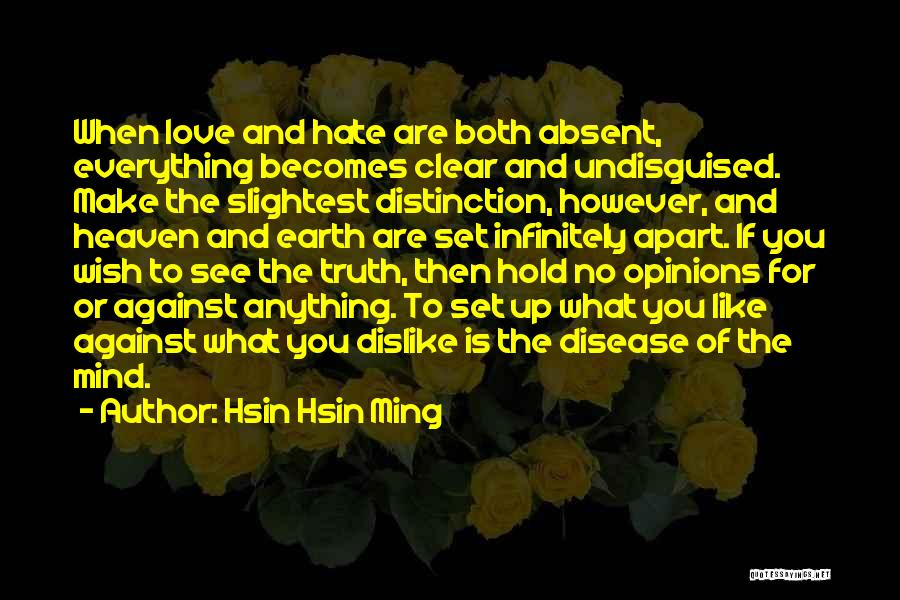 Christianity And Peace Quotes By Hsin Hsin Ming