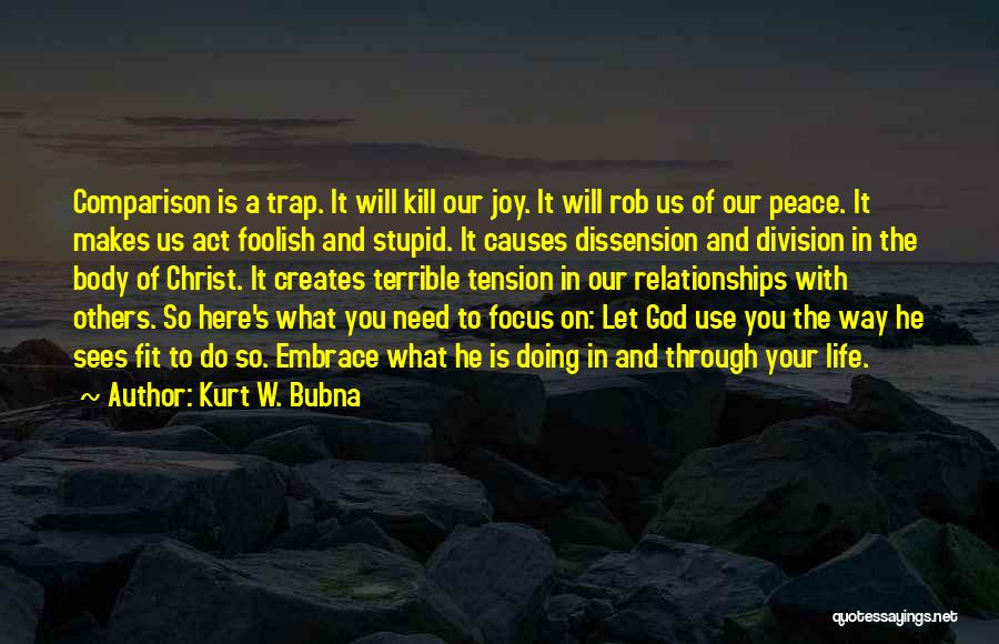 Christianity And Peace Quotes By Kurt W. Bubna