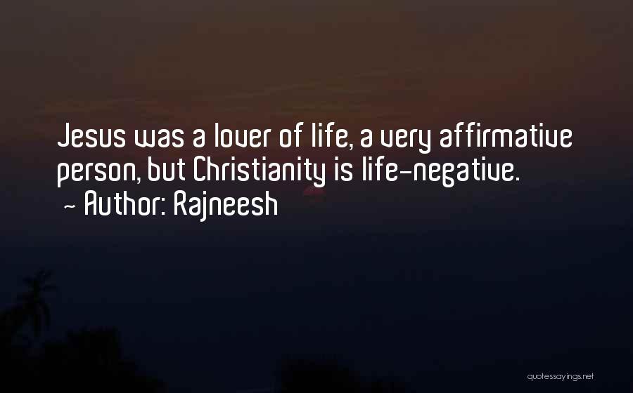 Christianity Negative Quotes By Rajneesh