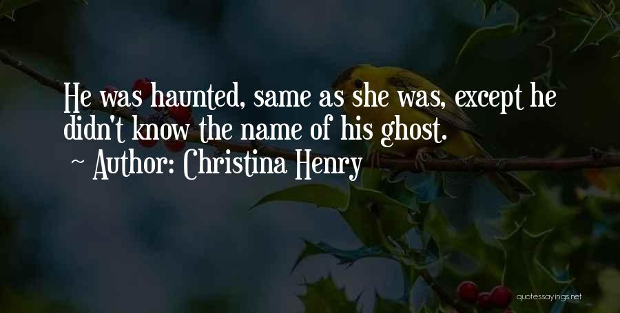 Christina Henry Quotes 1101860