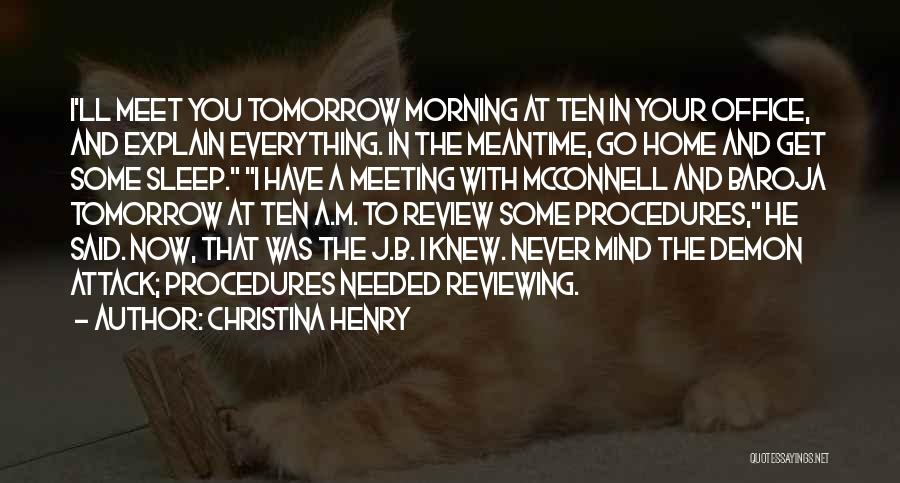 Christina Henry Quotes 1665516