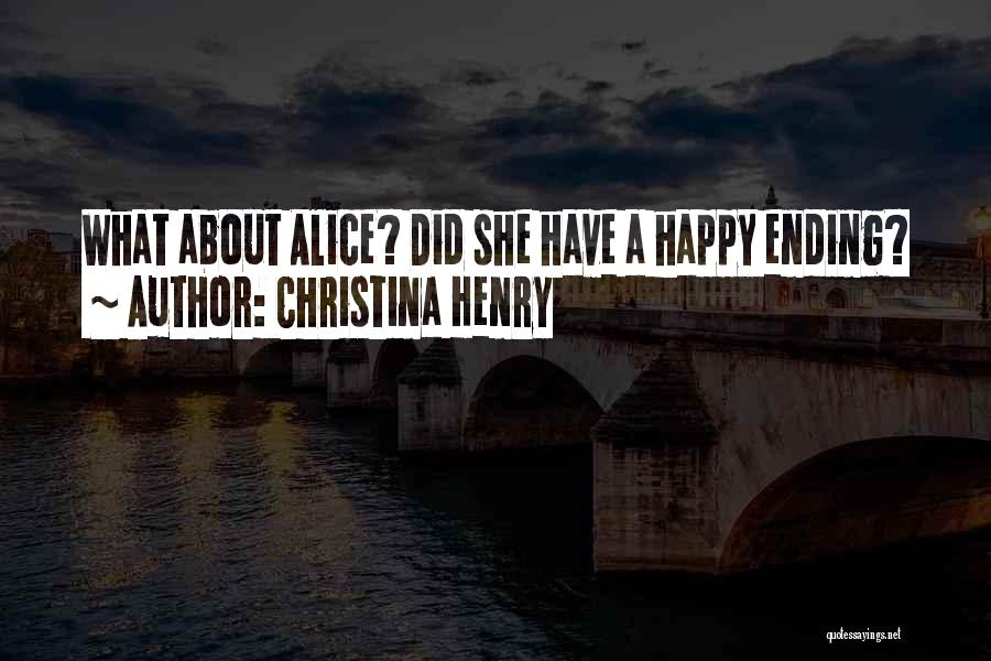 Christina Henry Quotes 1884092