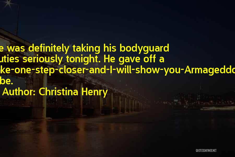 Christina Henry Quotes 275819