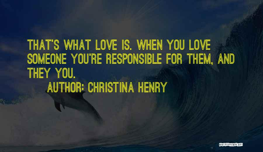 Christina Henry Quotes 364047
