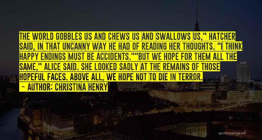 Christina Henry Quotes 618129