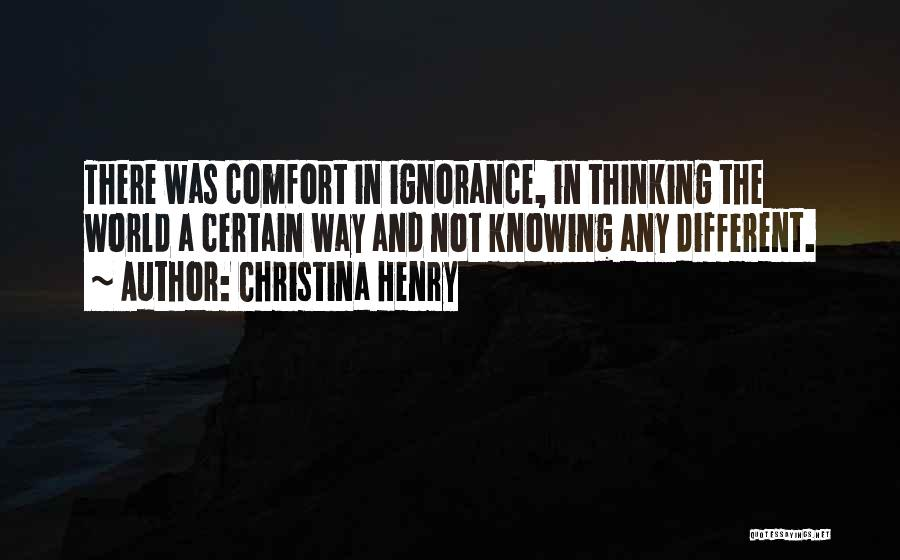 Christina Henry Quotes 756822