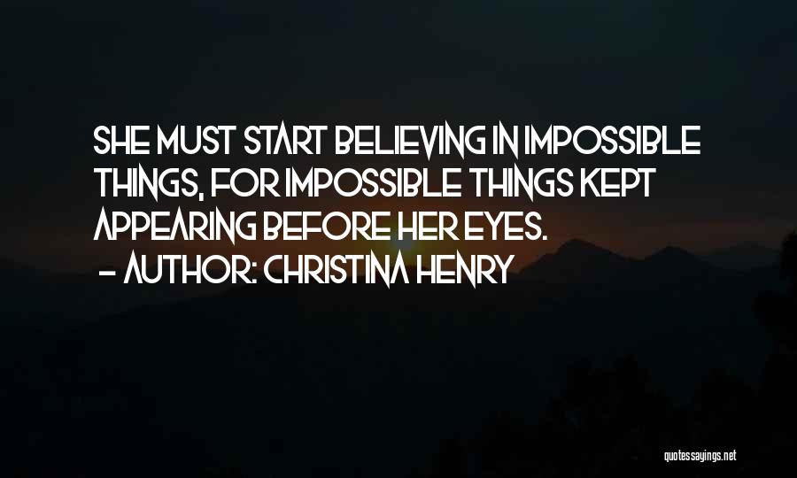Christina Henry Quotes 81886