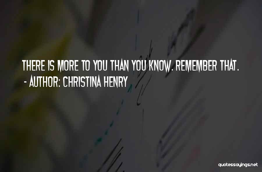 Christina Henry Quotes 983138