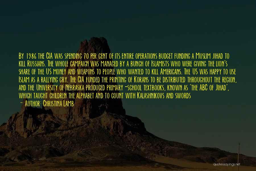 Christina Lamb Quotes 176872