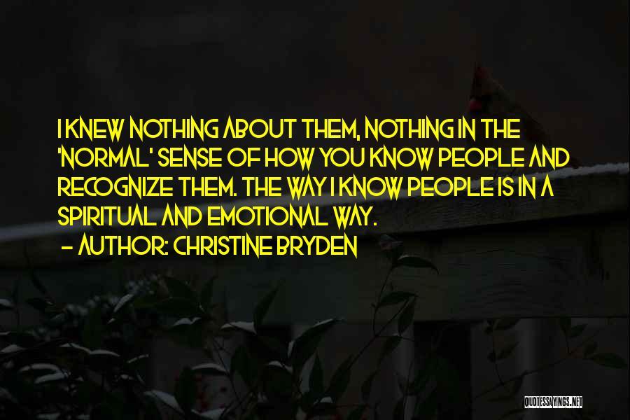 Christine Bryden Quotes 1778531