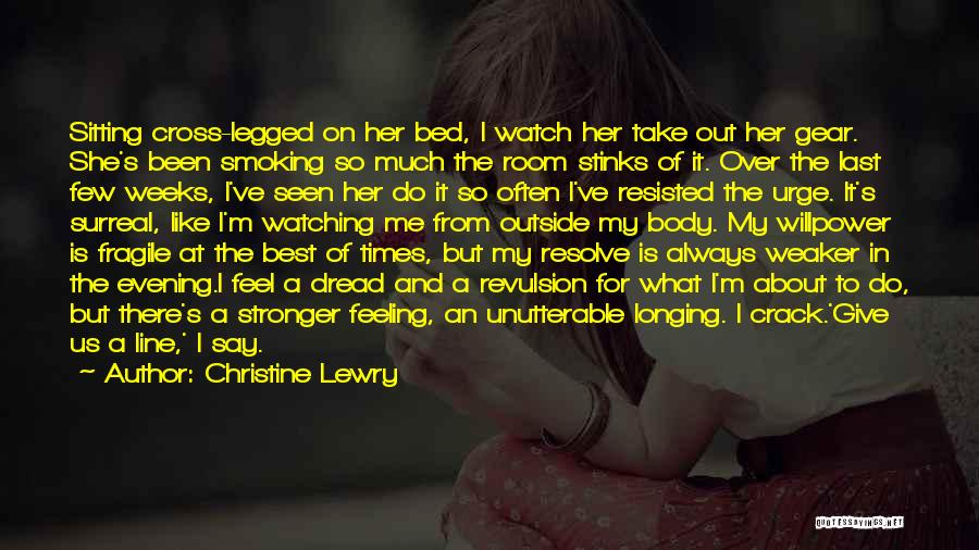Christine Lewry Quotes 274468