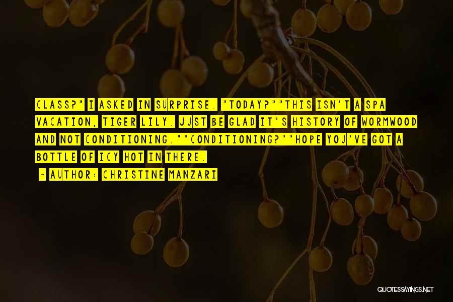 Christine Manzari Quotes 1002909