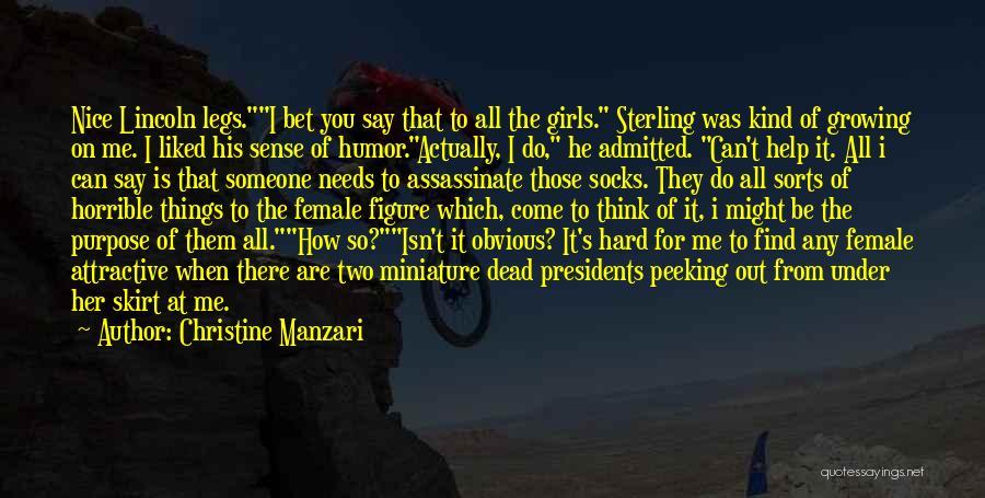 Christine Manzari Quotes 1486503