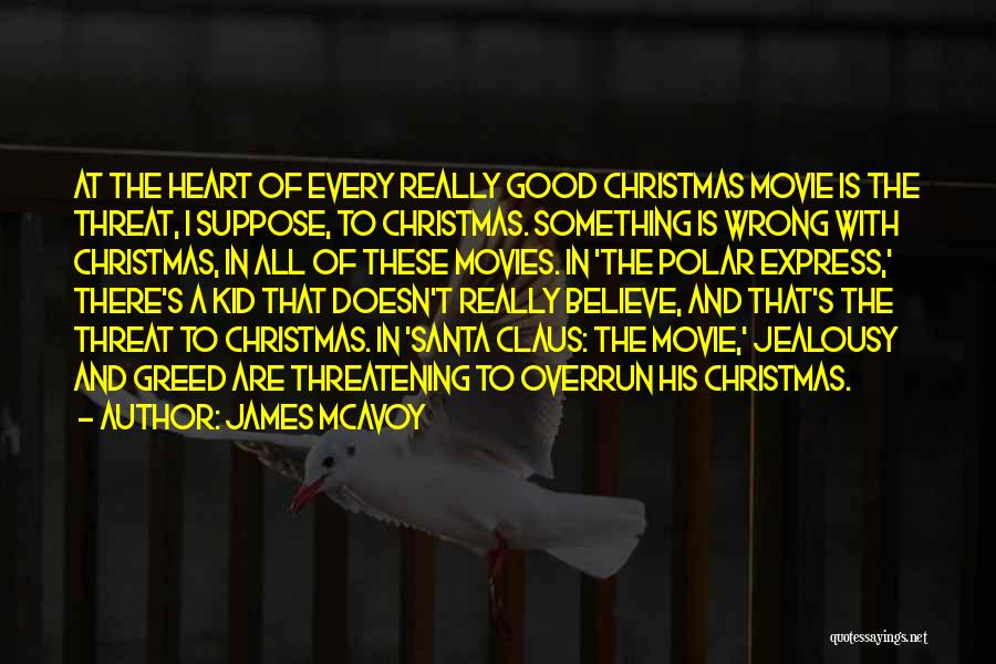 Christmas From Movies Quotes By James McAvoy